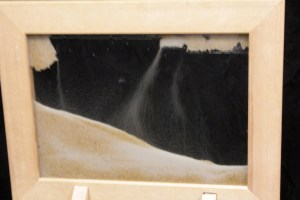 Photo of the sand in motion