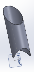 Mitered tube example