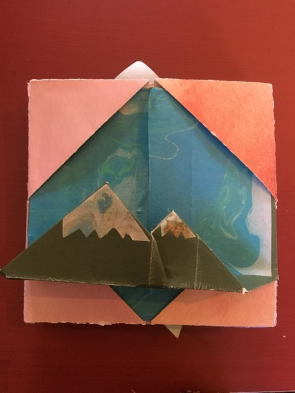 Origami Pop-Up Diary – Morgan Ulrich