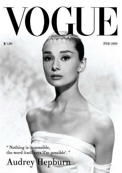 Hepburn Vogue Cover