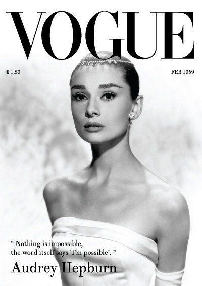 Hepburn Vogue Cover