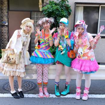 harajuku clothing