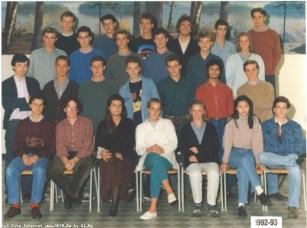Album : 1993 1993 6T7 6T7 1992-1993 - Titulaire : Mr. Boly