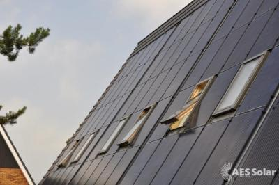 GSE roof integration for seamless roofing