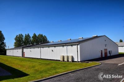 Benromach Disillery installation. Solar PV