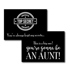 Top Secret Baby Announcement