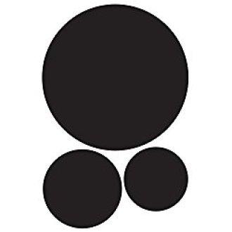 Chalkboard Circle Labels