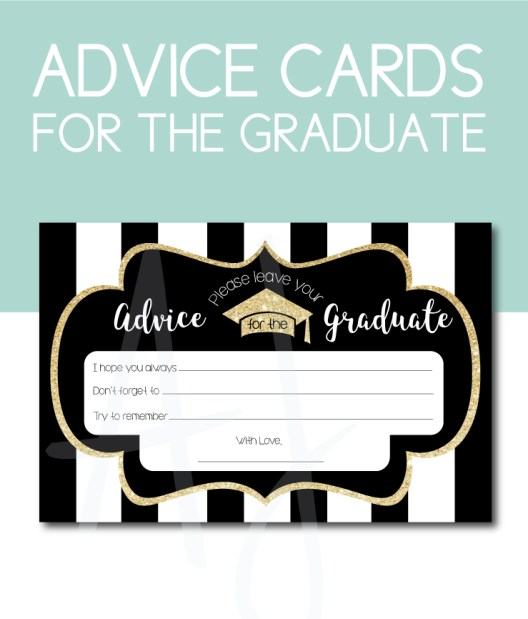 Advice for the Graduate Game for the Grad Party
