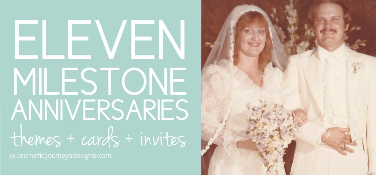 Anniversary Ideas for every milestone