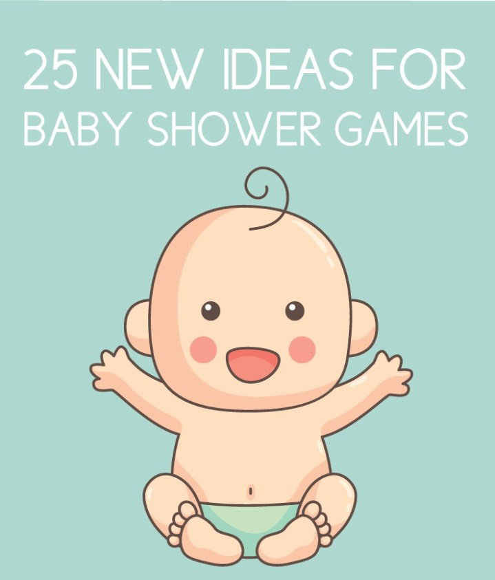 25 New Baby Shower Games