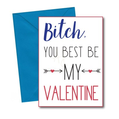 Valentine's card for best friend
