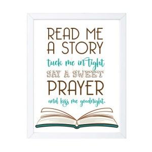 Read Me a Story Nursery Decor