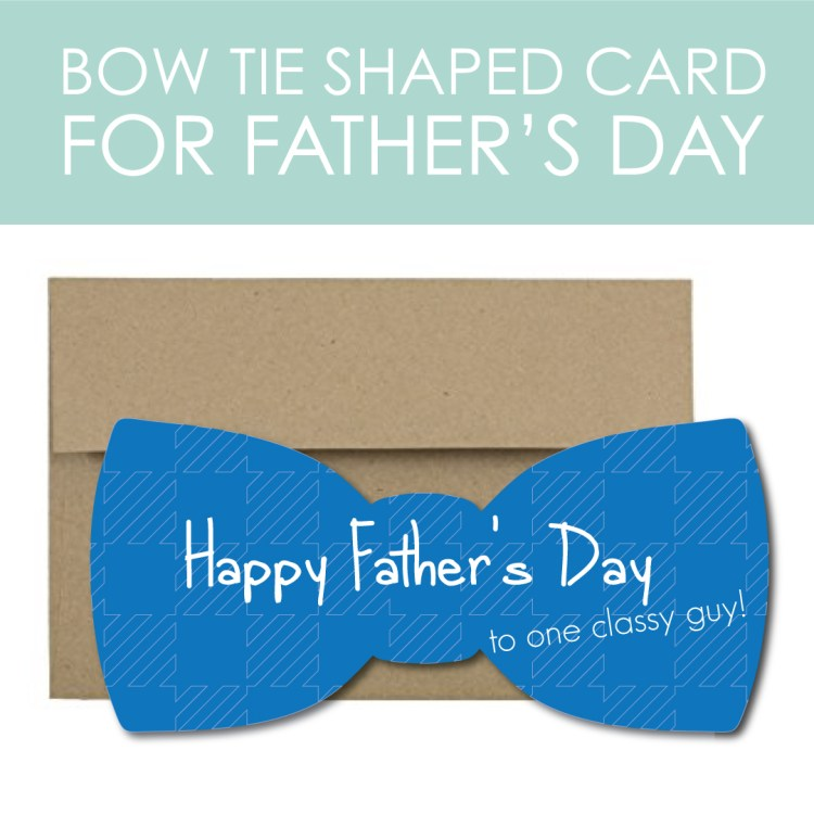 Bow Tie Card for Father's Day