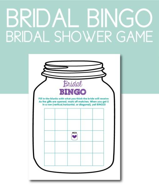 Bridal BINGO Shower Game