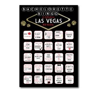 Vegas Themed Bachelorette BINGO