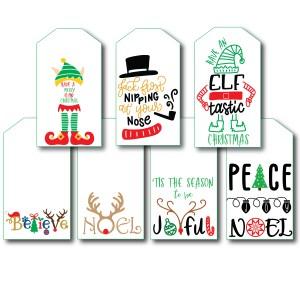 Cute Printable Christmas Tags