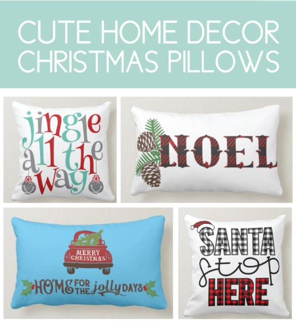 Cozy Christmas Pillows