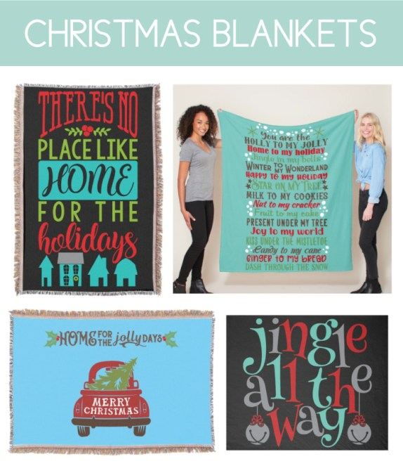 Christmas Blankets for Home Decor