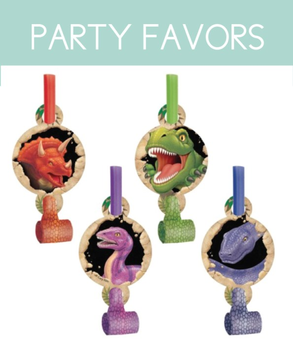 Find Dinosaur Party Favors at Target