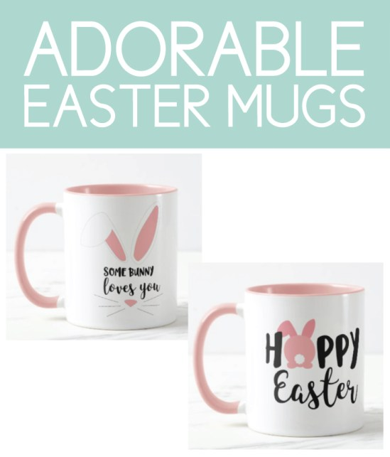 Adorable Mugs for Easter