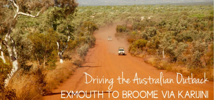 Driving the Australia Outback
