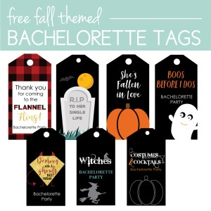 Download free Fall Bachelorette Tags