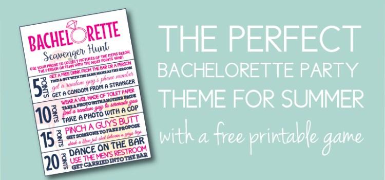 Flamingle Bachelorette Theme