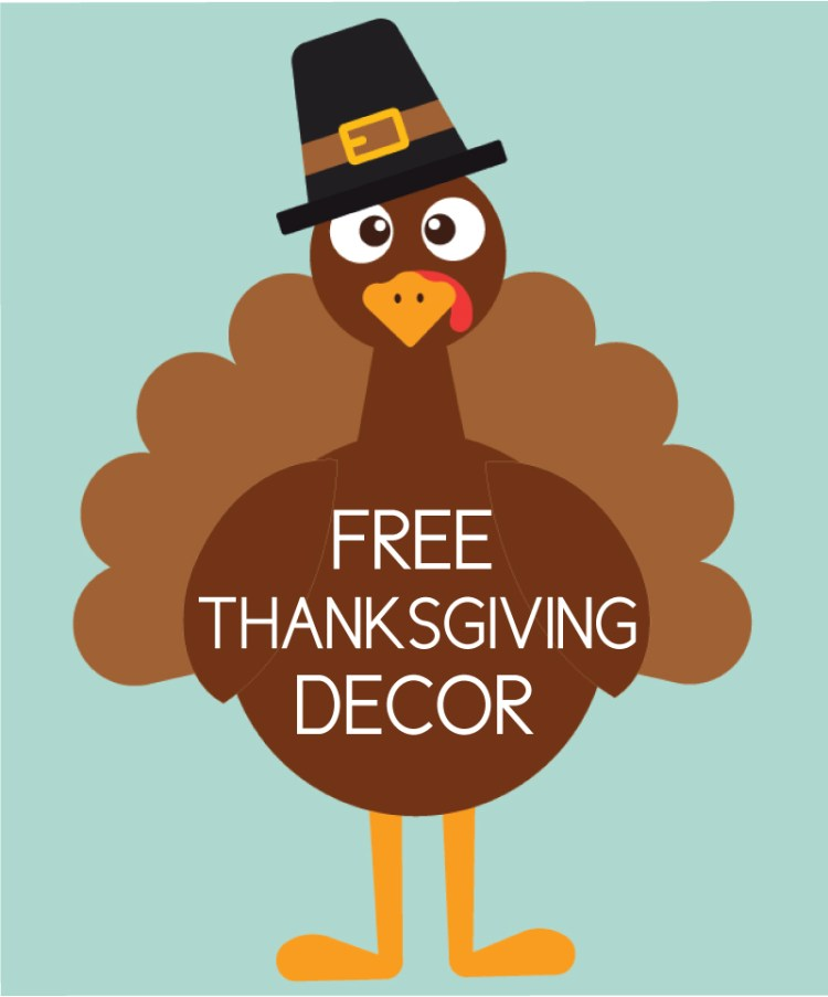 free thanksgiving decor