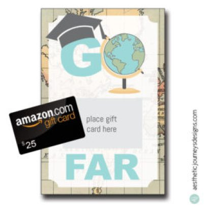 Go Far Gift Card Holder