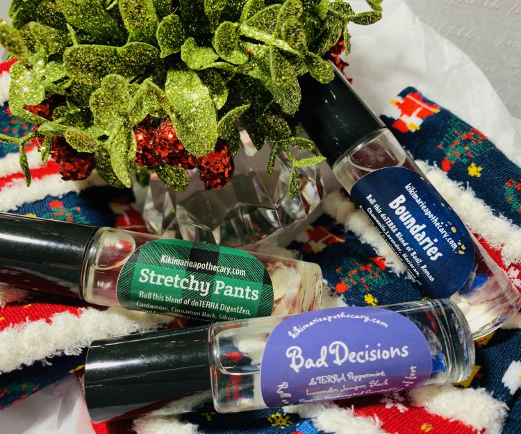 holiday themed essential oils