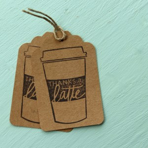 Coffee Themed Tags