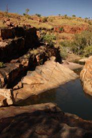 Swimming Spot Along Amalia Gorge Hike
