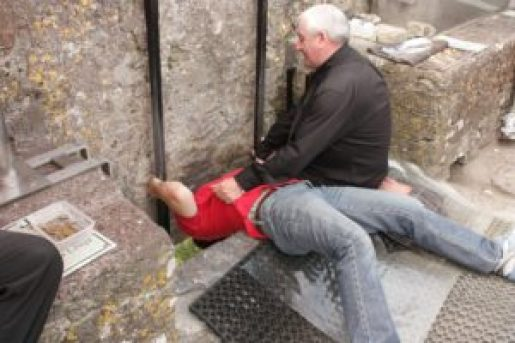 Kiss the Blarney Stone, Ireland