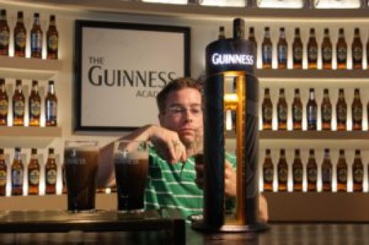 Pour the Perfect Pint at the Guinness Factory on an Ireland Road Trip