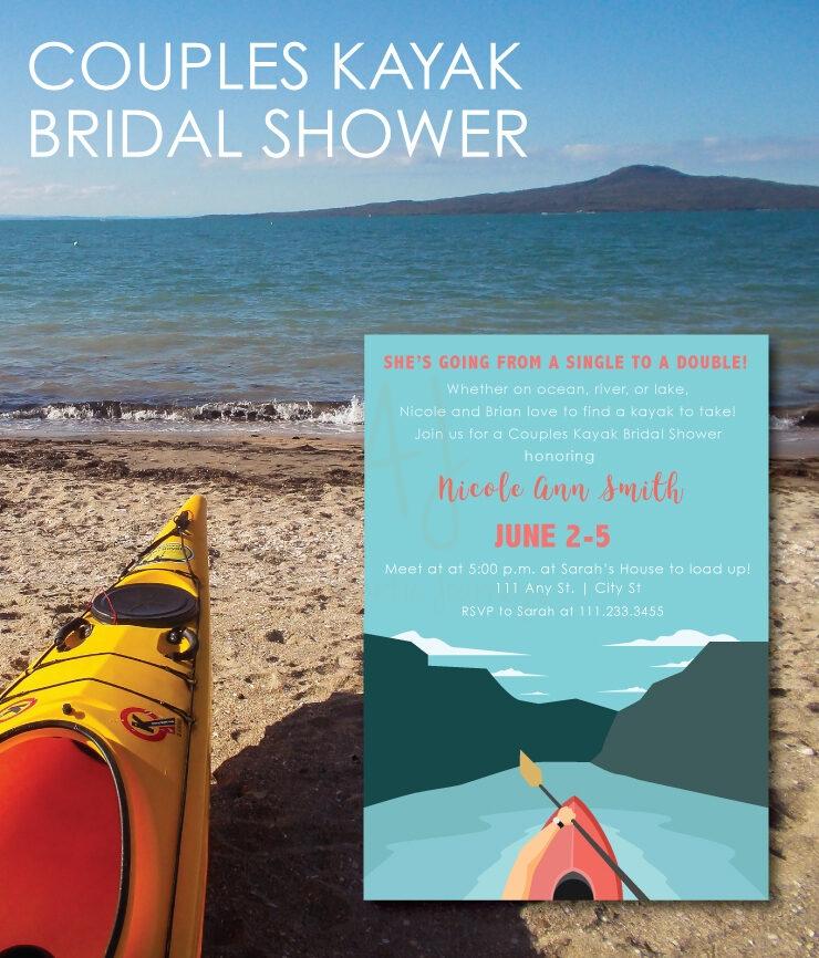 Couples Kayak Shower