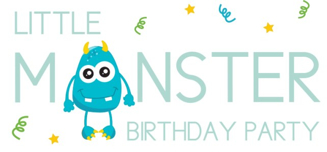 Little Monster Birthday: Three Keepsake Items You Can Make at Home