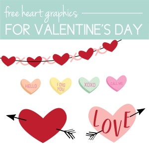 Download Free heart graphics for your own valentines ideas