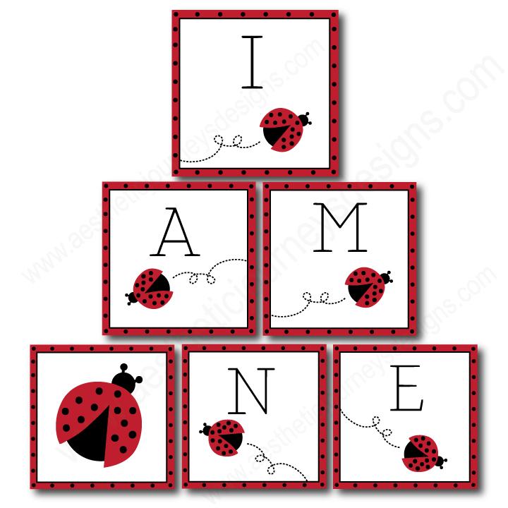 """I Am One"" Love Bug Birthday Banner"