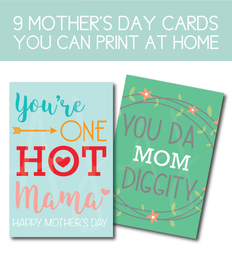 9 Mother's day cards