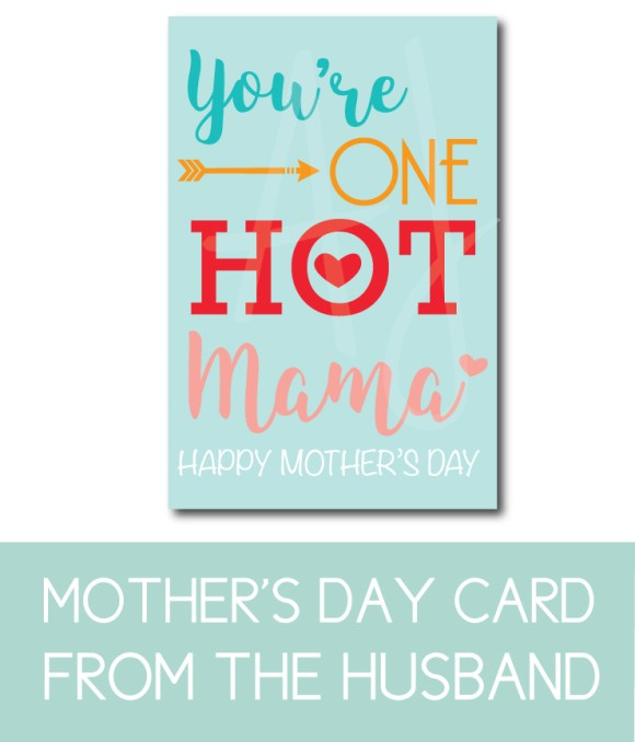 Mother's Day Card from the Husband or spouse