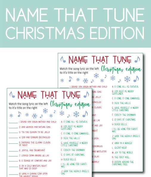 Name That Tune, Christmas Edition
