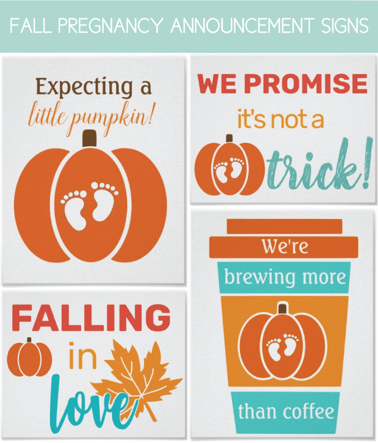 Pregnancy Signs for a fall Baby Picture