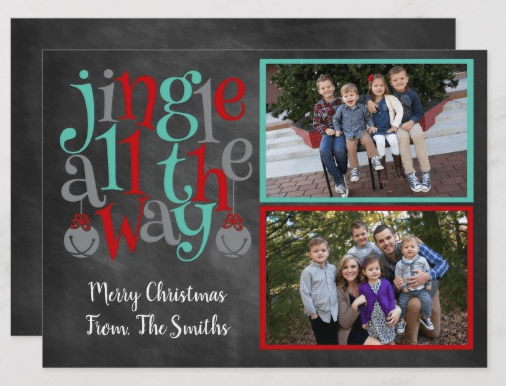Jingle All the Way Holiday Card