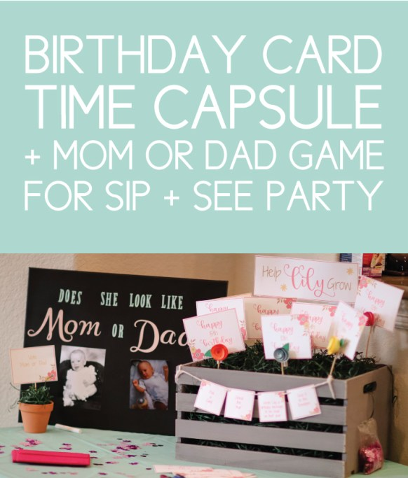 Baby Sip and See Party Games