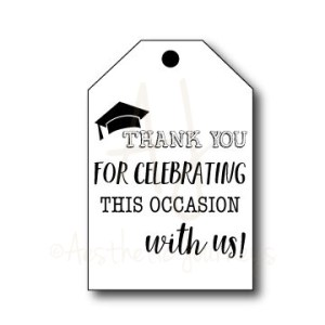 Graduation Thank You Tags