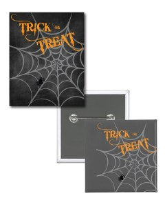 Trick-or-Treat Badge