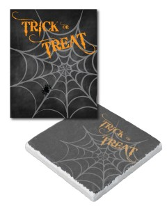 Trick-or-Treat Coasters