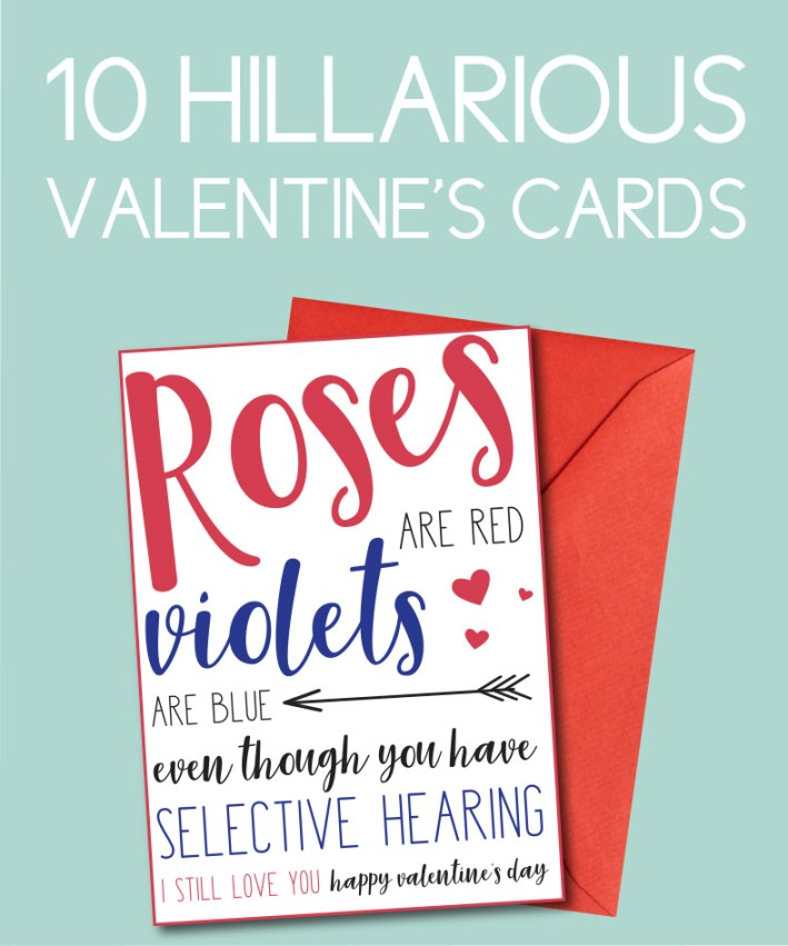 10 Hilarious Valentine's Ideas