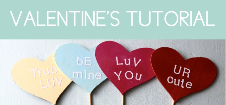 Valentine Tutorial: How to Make Candy Hearts in Under an Hour