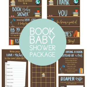 Complete baby shower party package